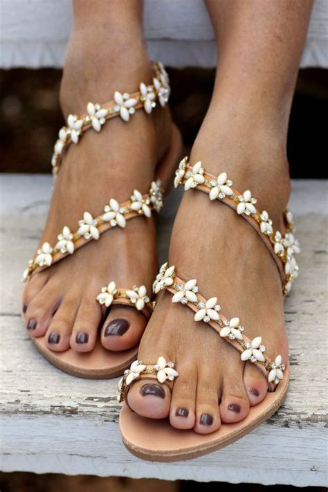 white wedding sandals flat 25 best ideas about bridal sandals on pearl