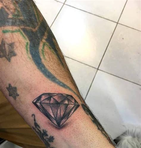 realistic diamond tattoo images designs