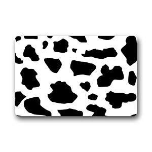 Black And White Cow Print Rug Black And White Milk Cow Print Pattern Doormat