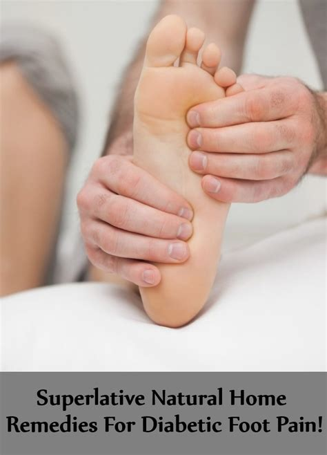 5 superlative home remedies for diabetic foot