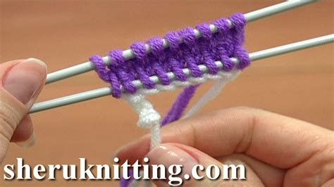 knitting cast on methods knit the crochet provisional cast on tutorial 1 part 17 of