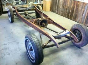Ford Chassis Joe Smith Early V8 Rod 1932 Ford Chassis For Sale