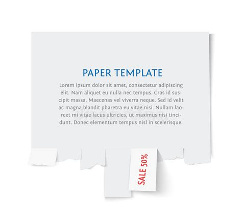 8 best images of flyers with tear offs templates free sale