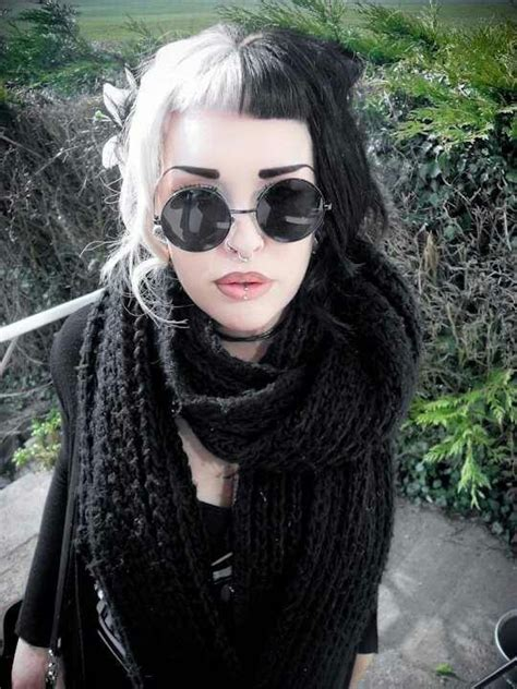 black and white hair color 157 best images about black and white hair on pinterest