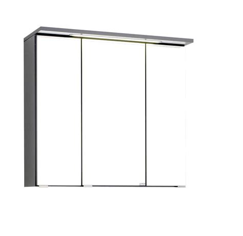 spiegelschrank norma held bologna spiegelschrank 70 graphitgrau