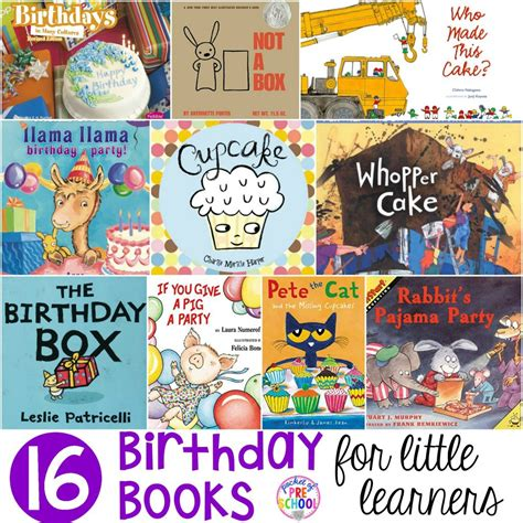 all themes list birthday books for little learners pocket of preschool