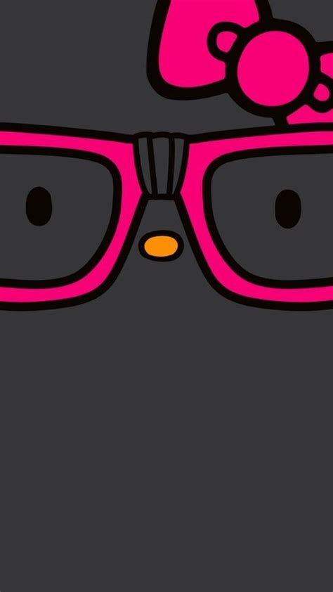 Iphone Hello Pink Glasses 482 best images about hello on iphone wallpapers sanrio and hello