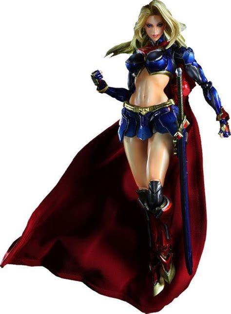 Mainan Superman Supergirl Set 2 Figure play arts supergirl figure at mighty ape australia