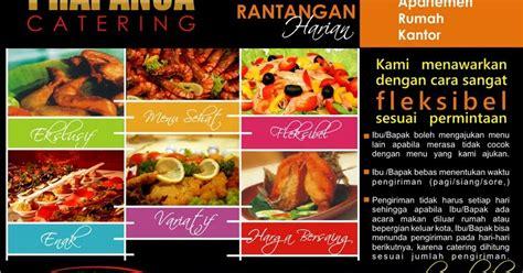 desain brosur undangan desain brosur prapanca catering by quot desain gratis