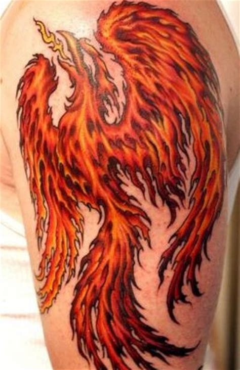 tattoo phoenix flames bustermurdoch tattoos girly