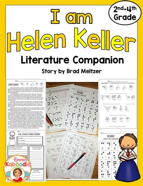 helen keller biography 4th grade 21 best helen keller 2nd grade images on pinterest