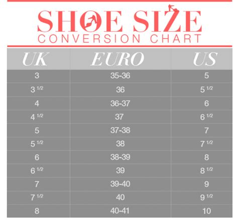 european shoe size converter european shoe size conversion to uk