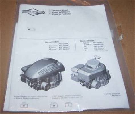 Briggs And Stratton Lawn Mower Model 90000 - murray lawn mower briggs stratton engine m22500 op