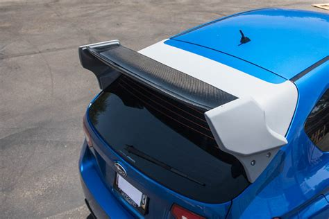 subaru hatchback wing how to install the carbon fiber rally wing on subaru