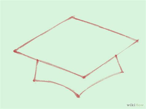How To Draw A Cap And Gown