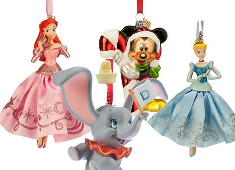 disney store 10 00 christmas ornaments ftm
