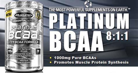 Suplemen Platinum Bcaa Muscletech Platinum Bcaa 8 1 1