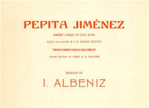 pepita jimenez teatro iberoamericano borja mari 241 o repertorio
