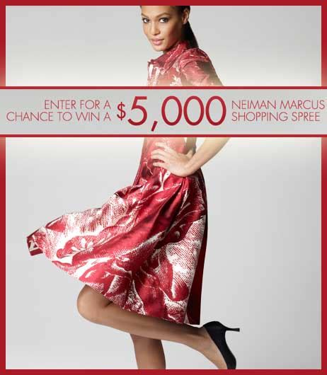 Neiman Marcus Sweepstakes - win a 5 grand shopping spree neiman marcus fashion sweepstakes 2013 sweeps maniac