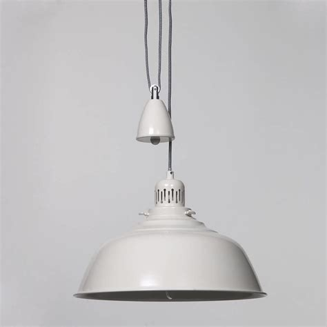 Fisherman Pendant Ceiling Light Rise And Fall Cream From Rise And Fall Pendant Lighting