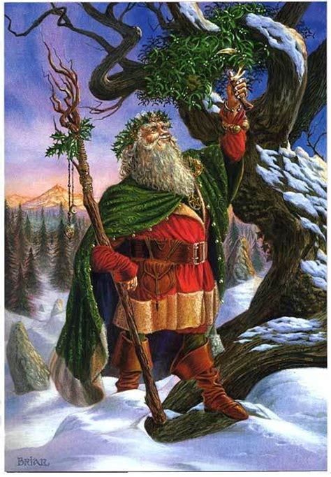 dancing in the shadows pagan origins of father christmas