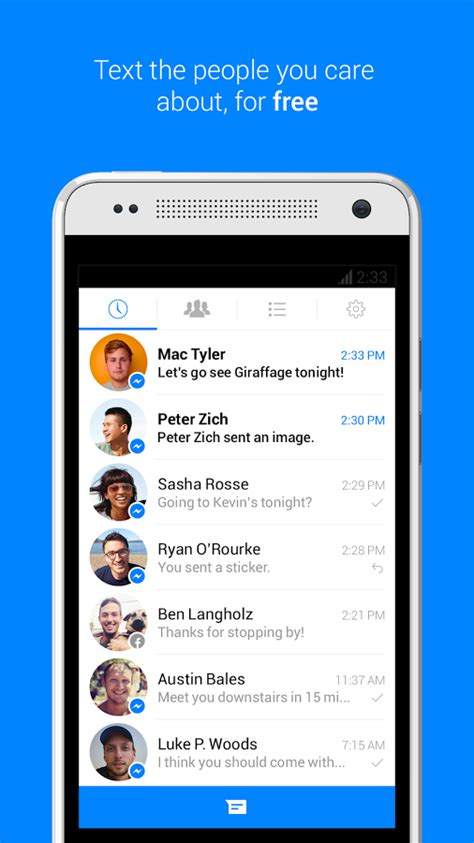 messenger for android messenger android app for pc messenger on pc andy android