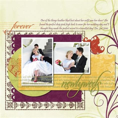 creative and romantic scrapbooking ideas 1000 images about scrapbooking wedding on pinterest