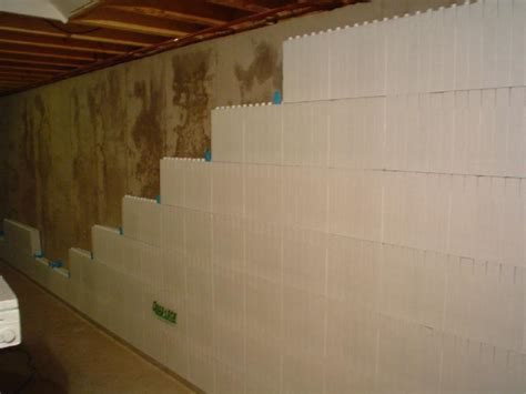 basement wall ideas smart ideas to insulate basement wall basement