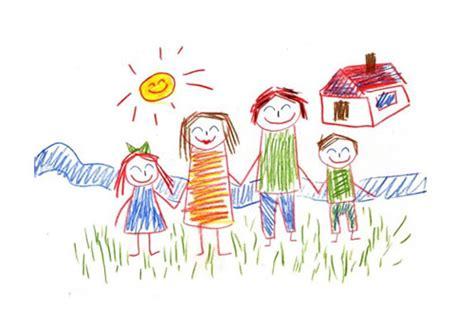imagenes de la familia sin color dibujos de familia 174 im 225 genes para colorear y pintar