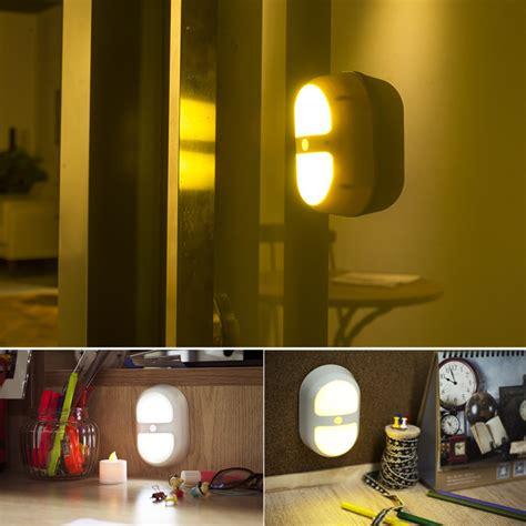 night light for bathroom night light motion sensor activated wall light 10led for