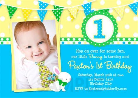 first birthday invitations boy wblqual com