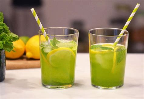 Moringa Detox Recipe by Moringa Mint Lemon Lime Water