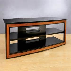 tv stands for 65 inch flat screens bello versatile black glass and wood trim 65 inch tv stand