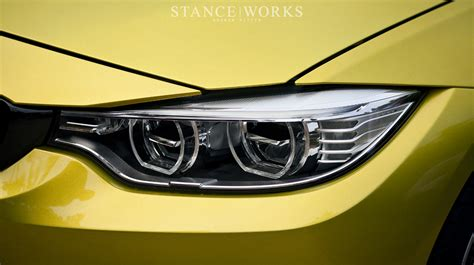 bmw m4 headlights stance works the bmw m4 coupe unveiled