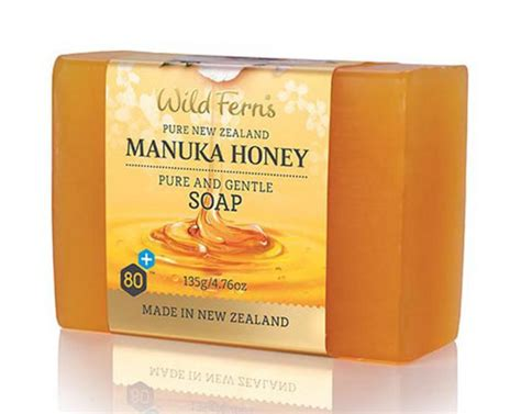 Manuka Honey Soap and gentle manuka honey soap in 135g from ferns