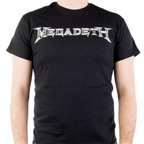 Hoodie Megadeth Xxxv Cloth 1 megadeth quot logo quot t shirt indiemerchstore