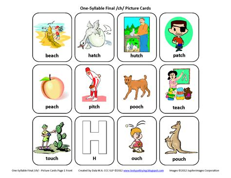 speech therapy worksheets for preschoolers testy yet trying ch free speech therapy articulation picture cards