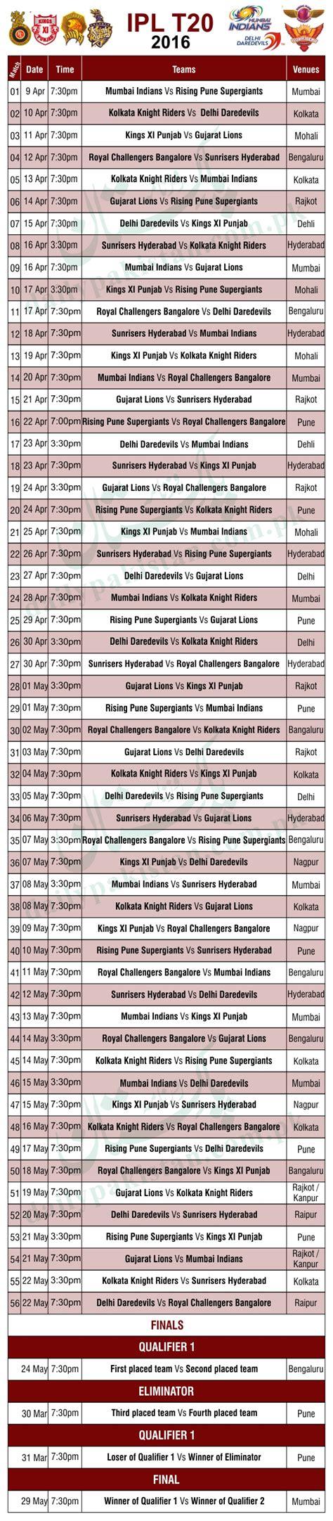 pepsi ipl 7 full match list download auto design tech ipl schedule for 2016 image calendar template 2016