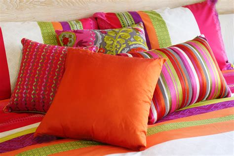 colorful bed pillows home textiles textile quality research trademark management