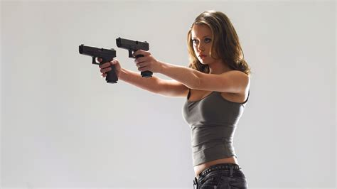 wallpaper girl and gun girl with gun wallpaper wallpapersafari