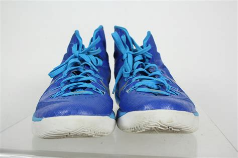 size 9 basketball shoes nike hyperdunk blue lace up basketball shoes size 9 5 ebay