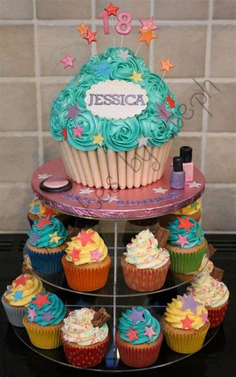 giant cupcake birthday cake idea   recipe attached master chef desserts cupcake