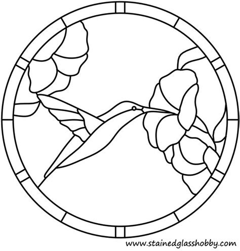 suncatcher coloring page of a coloring page outline of stained glass flower
