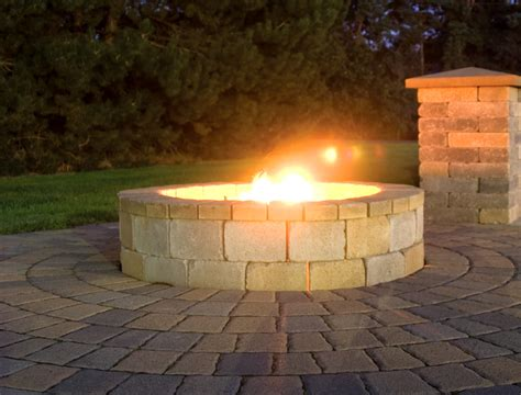 using pavers for a pit best buy in town landscape