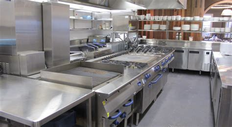 types of commercial cooking equipment