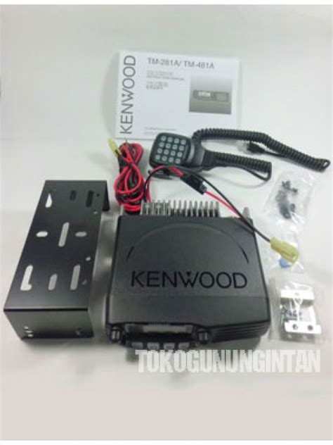 rig kenwood tm 281a