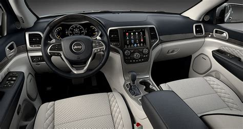 Summit Interiors by 2017 Jeep Grand Trailhawk And Summit