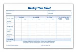 Timesheet Template by Weekly Timesheet Template Tristarhomecareinc