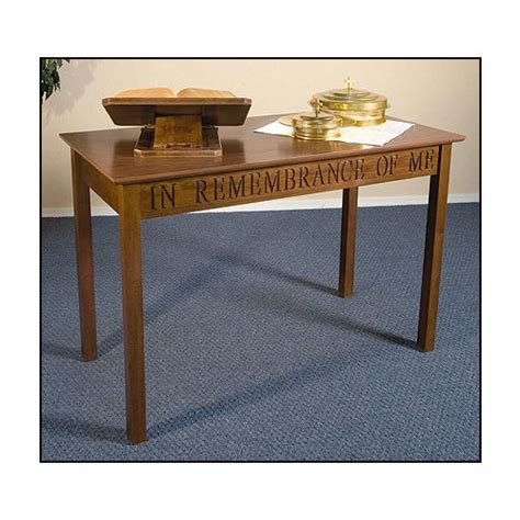 in remembrance of me table in remembrance of me communion table walnut the