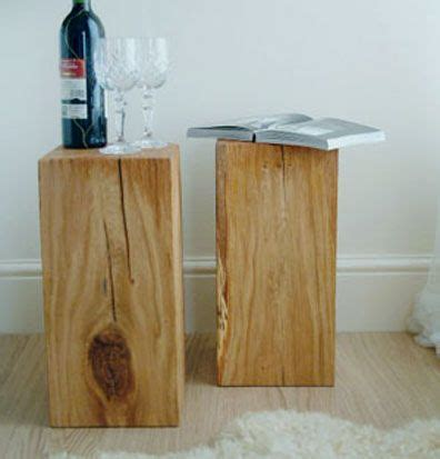 wood block side table 1000 images about wood side tables on coffee